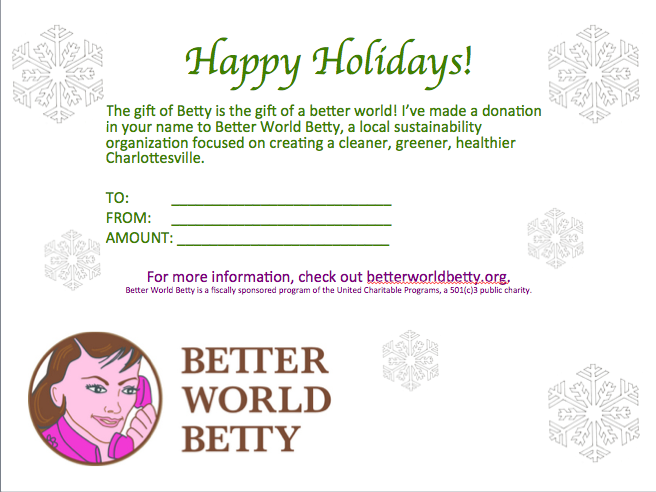 Gift of Betty