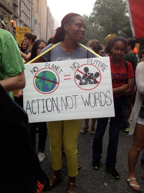 action not words